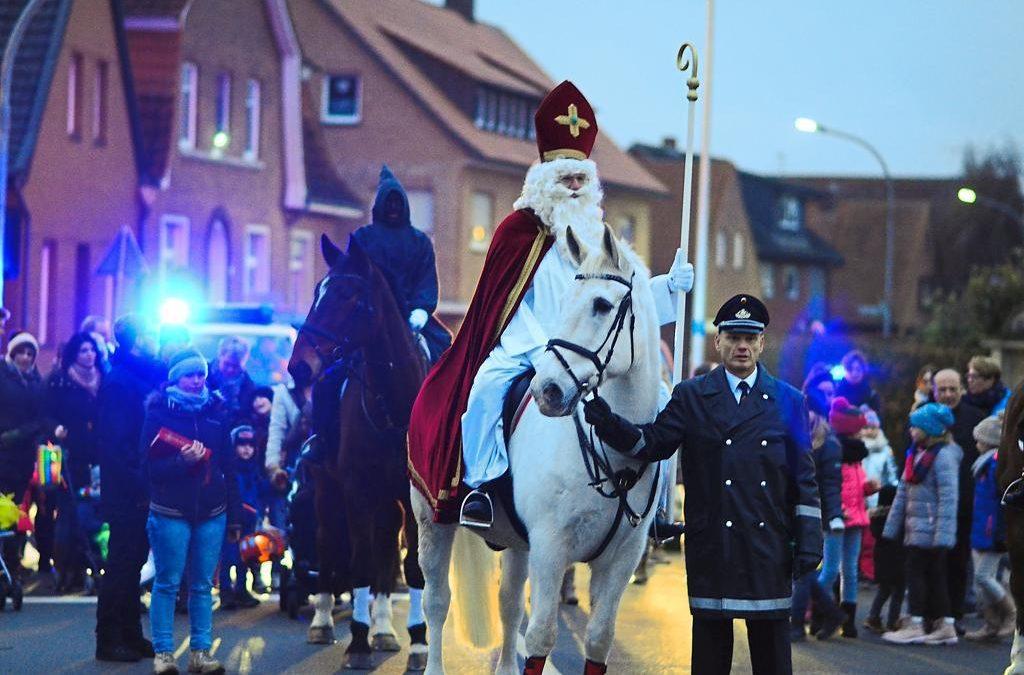 Der Nikolaus kommt am 05.12.